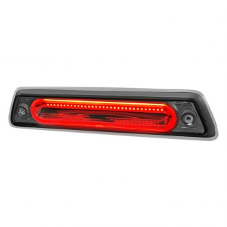 Spec-D® - Chrome Red/Smoke Fiber Optic LED 3rd Brake Light