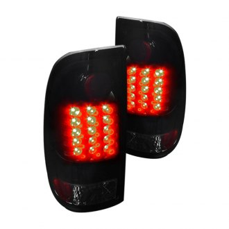 Spec-D® - Gloss Black LED Tail Lights