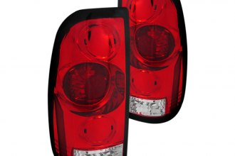 Spec-D® - Red/Clear Euro Tail Lights