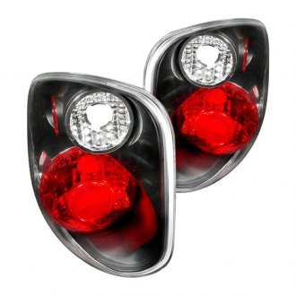 Spec-D® - Black/Red Euro Tail Lights