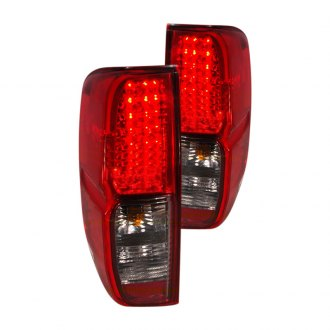 Spec-D® - Chrome Red/Smoke LED Tail Lights