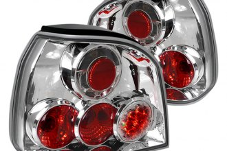 Spec-D® - Chrome Euro Tail Lights with LEDs