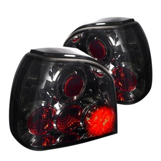 Spec-D® - Smoke Euro Tail Lights with LEDs