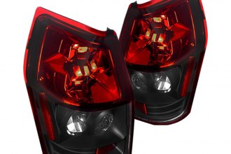 Spec-D® - Red/Black Euro Tail Lights