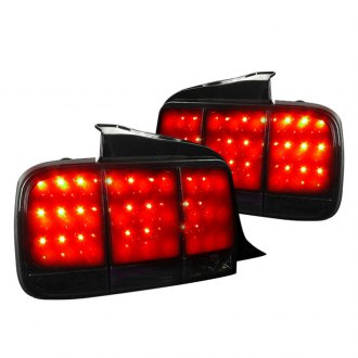 Spec-D® - Gloss Black/Smoke Sequential LED Tail Lights