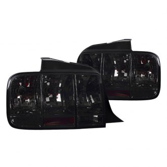 Spec-D® - Chrome/Smoke Sequential Euro Tail Lights