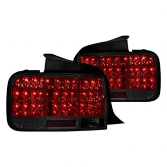 Spec-D® - Chrome/Smoke LED Sequential Tail Lights