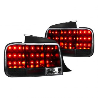 Spec-D® - Black LED Sequential Tail Lights