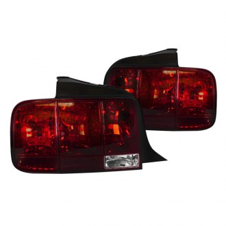 Spec-D® - Chrome/Red Euro Sequential Tail Lights