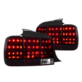Spec-D® - Black Red/Smoke Sequential LED Tail Lights