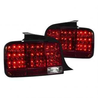Spec-D® - Chrome/Red LED Sequential Tail Lights
