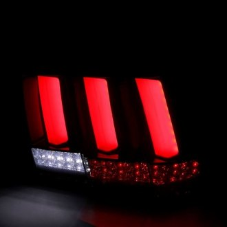 Spec-D® - Black/Smoke Fiber Optic LED Sequential Tail Lights