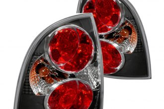 Spec-D® LT-PAS014JM-TM - Black Euro Tail Lights