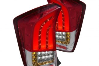 Spec-D® - Red Fiber Optic LED Tail Lights G2