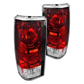 Spec-D® - Red/Clear Euro Tail Lights G2
