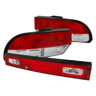 Spec-D® - Chrome/Red Factory Style Tail Lights