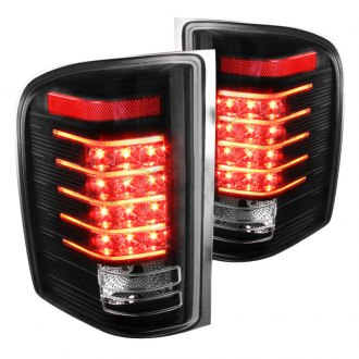 Spec-D® - Black Fiber Optic LED Tail Lights