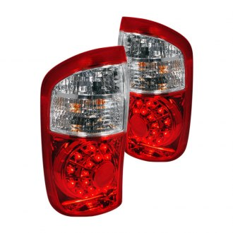 Spec-D® - Chrome/Red LED Tail Lights