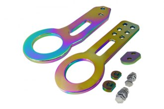 Spec-D® - Neo Chrome Tow Hooks Kit