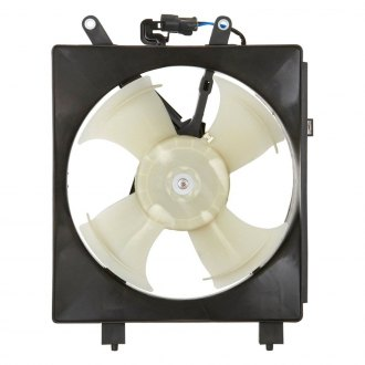 Spectra Premium® - Left A/C Condenser Fan Assembly