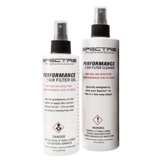 Spectre Performance® - Accucharge Precision Air Filter Cleaning Kit (12 oz Cleaner, 8 oz Oil)