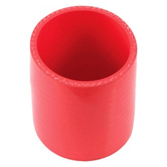 Spectre Performance® - 2.5 O.D. 3 Long Air Intake Tube Coupler - Red Silicone