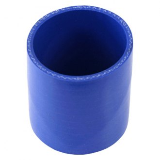 Spectre Performance® - 2.5 O.D. 3 Long Air Intake Tube Coupler - Blue Silicone