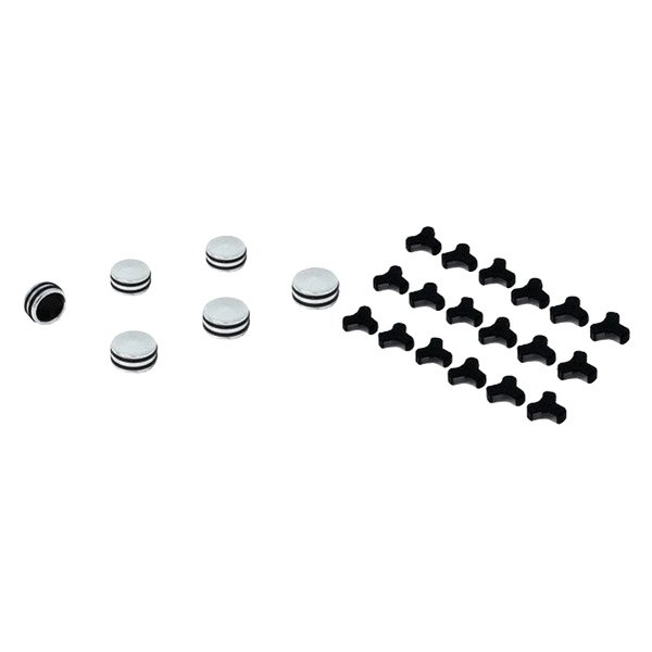 Spectre Performance® - Billet O-Ring Bolts Caps Kit (12mm - 13mm)
