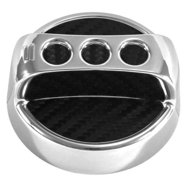 Spectre Performance® - Circular Design Chrome Oil Filler Cap Cover