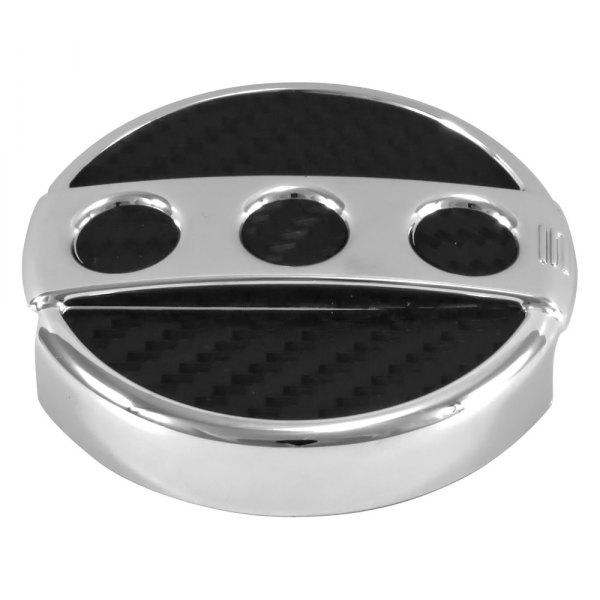Spectre Performance® - Circular Design Chrome Windshield Washer Cap Cover