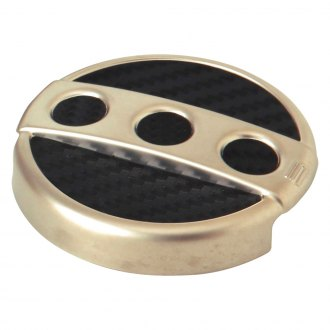 Spectre Performance® - Circular Design Bronze Windshield Washer Cap Cover