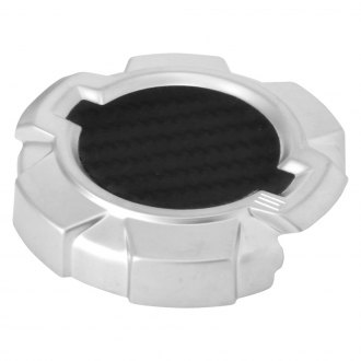 Spectre Performance® - Modern Design Silver Windshield Washer Cap Cover