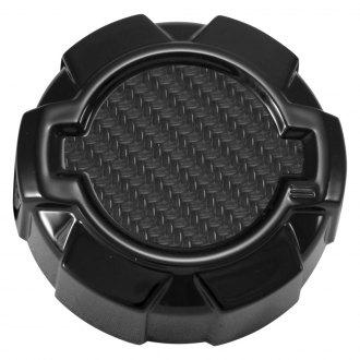 NRG DURABLE POWDER-COATED STYLISH ALUMINUM RADIATOR CAP COVER DECORATION SILVER