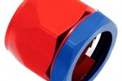 "Spectre Performance® - 0.5"" I.D. Magna-Clamp Heater Hose/Oil Line Fitting - Red and Blue"