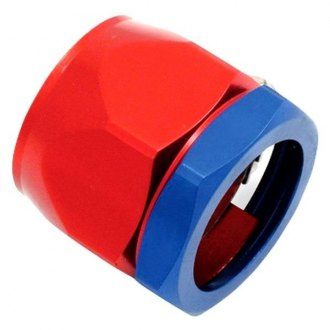 Spectre Performance® - 0.5 I.D. Magna-Clamp Heater Hose/Oil Line Fitting - Red and Blue