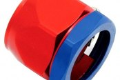 "Spectre Performance® - 5/8"" I.D. Magna-Clamp Heater Hose/Oil Line Fitting - Red and Blue"