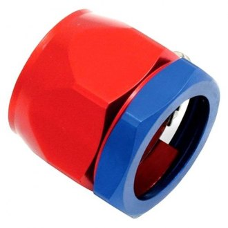 Spectre Performance® - 5/8 I.D. Magna-Clamp Heater Hose/Oil Line Fitting - Red and Blue