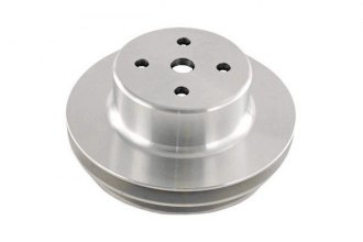 Spectre Performance® - Polished Double Belt Groove Water Pump Pulley