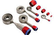 Spectre Performance® - Magnabraid Stainless Sleeving Kit with Magna-Clamps