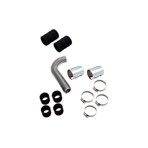 "Spectre Performance® - 12"" Magna-Kool Stainless Steel Radiator Hose Kit with Polished End Covers"