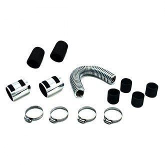 Spectre Performance® - 12 Magna-Kool Stainless Steel Radiator Hose Kit with Chrome End Covers