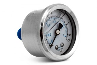 Spectre Performance® - Fuel Pressure Gauge with Inline Fitting