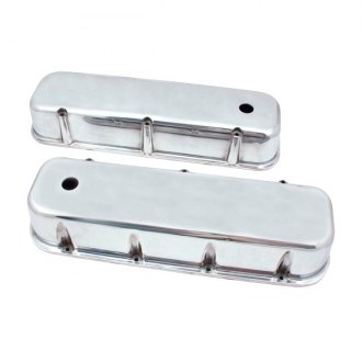 Spectre Performance® - Polished Smooth Tall Valve Cover Set with Center Bolts