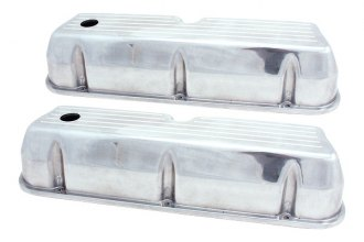 Spectre Performance® - Polished Tall Ball Milled Valve Cover Set