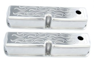 Spectre Performance® - Polished Flamed Tall Valve Cover Set