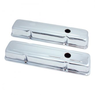Spectre Performance® - Stainless Short 2-Hole Design Valve Cover Set