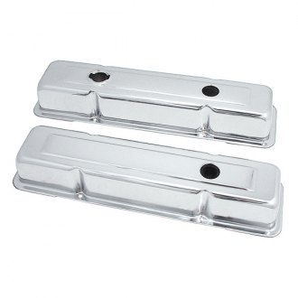 Spectre Performance® - Stainless Short 3-Hole Design Valve Cover Set