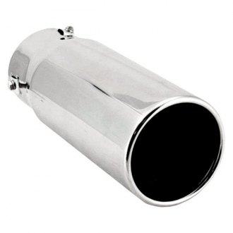 Spectre Performance® - 4 O.D. Pencil Style Exhaust Tail Pipe Tip with Resonator