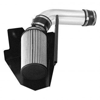 Spectre Performance® - Aluminum Clear Anodized Cold Air Intake System with HPR® Filter