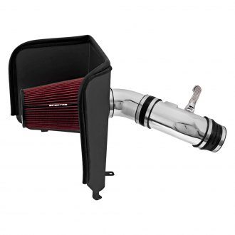 Spectre Performance® - Aluminum Polished Cold Air Intake System with HPR® Red Filter